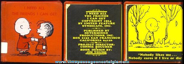 1964 Charlie Brown / Peanuts Small Hard Back Book
