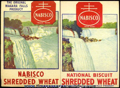 Image result for shredded wheat niagara falls box
