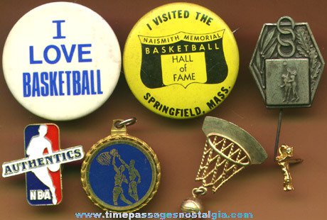 (7) Small Basketball Related Items