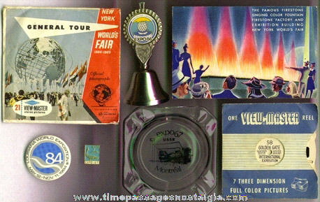 (7) Mixed World's Fair Souvenir Items