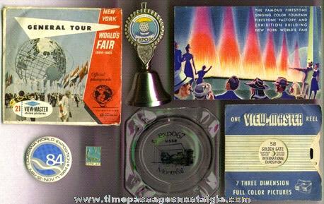 (7) Mixed World's Fair Souvenir Items