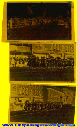 (3) 1938 Parade Photo Negatives
