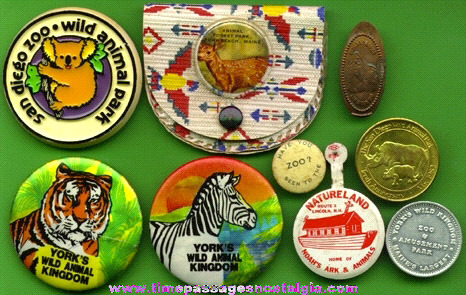 (9) Different ZOO Advertising Souvenir Items
