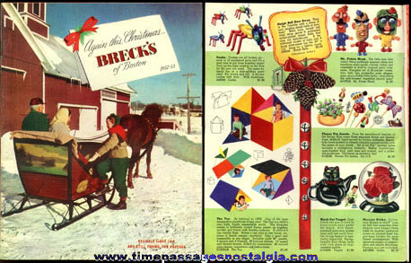 1952 - 1953 BRECK'S Of Boston Christmas Catalog