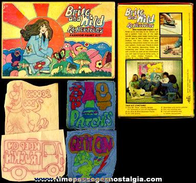(3) Boxes Full Of 1970's Transfer Paint Kits