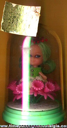 Old Fragrance Doll In A Dome Case
