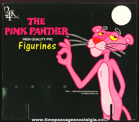 �1989 PINK PANTHER Store Display With (6) Different Figures