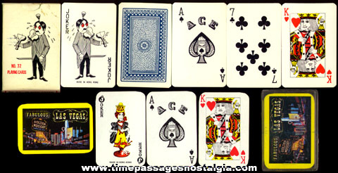 (2) Miniature Boxed Decks Of Playing Cards