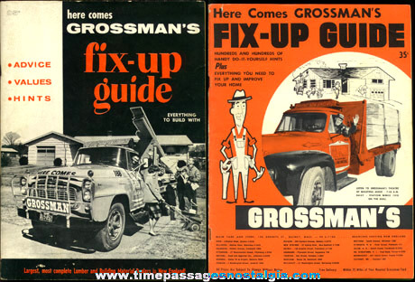 (2) Old GROSSMAN'S Building Supply Catalogs
