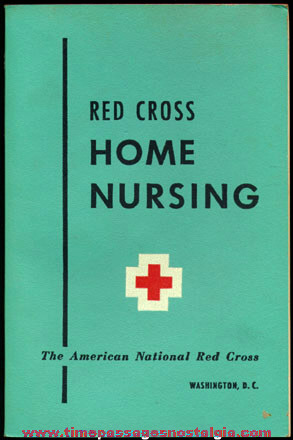�1951 Red Cross Home Nursing Book