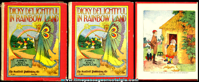 ©1909 Book: DICKY DELIGHTFUL IN RAINBOW LAND