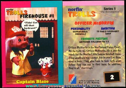 (86) Norfin Troll Trading Cards