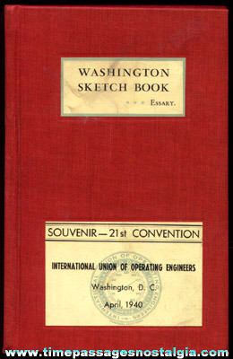 1940 Union Convention Washington, D.C. Souvenir Book