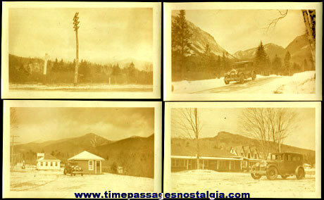 (4) 1928 White Mountains - New Hampshire Photographs