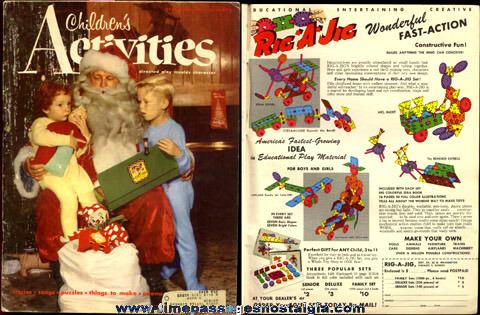 December, 1953 ''CHILDREN'S ACTIVITIES'' Magazine
