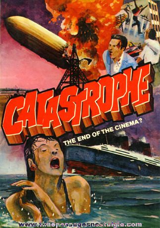 "�1975 Hard Back Book ""CATASTROPHE - THE END OF THE CINEMA?"""