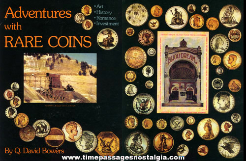 "�1979 Hard Back Book ""ADVENTURES WITH RARE COINS"""
