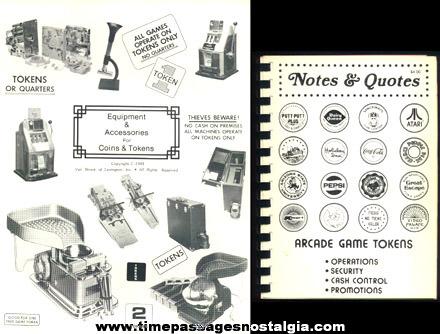 (7) 1979 - 1982 Coin, Token, Medallion Company Sales Items