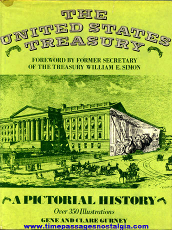 "�1978 Hard Back Book ""THE UNITED STATES TREASURY"""