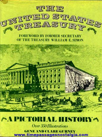 "©1978 Hard Back Book ""THE UNITED STATES TREASURY"""