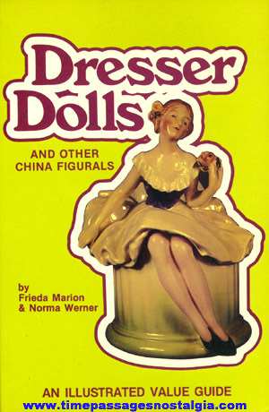 "�1983 Reference Book ""DRESSER DOLLS AND OTHER CHINA FIGURALS"""