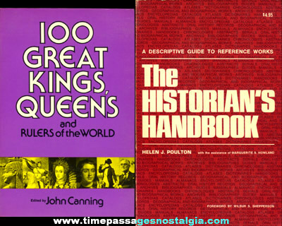 (2) Different History Books