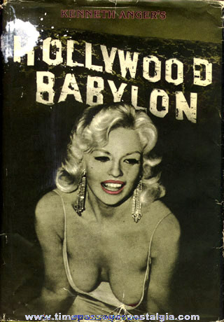 "�1975 Hard Back Book ""HOLLYWOOD BABYLON"""