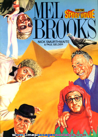 "�1982 Movie Book ""MEL BROOKS AND THE SPOOF MOVIE"""