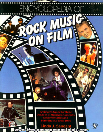 "�1987 Music Book Entitled ""ENCYCLOPEDIA OF ROCK MUSIC ON FILM"""