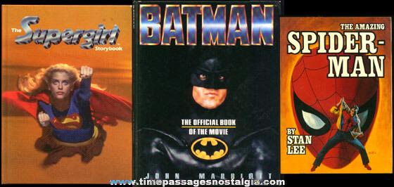(3) 1970's - 1980's Super Hero Books