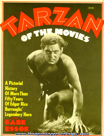 "�1968 Reference Book Entitled ""TARZAN OF THE MOVIES"""