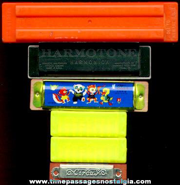 (6) Toy Harmonicas