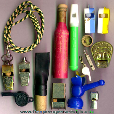 (15) Different Small Whistles