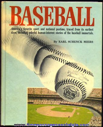 """©1970 Hard Back Book """"BASEBALL"""""""