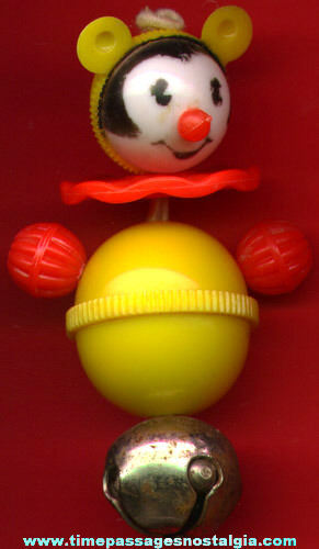 Small Old Mouse Bell Baby Toy