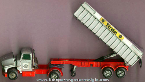 ©1973 MATCHBOX Super King Ford Tractor Trailer