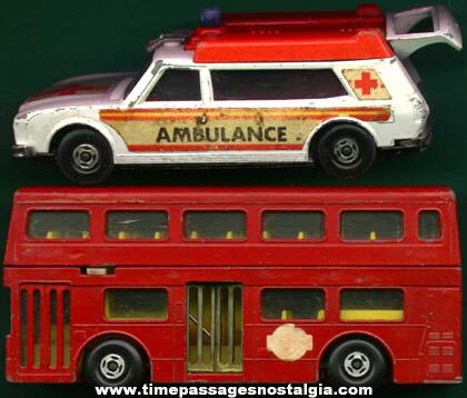 (2) Large 1970's MATCHBOX Vehicles