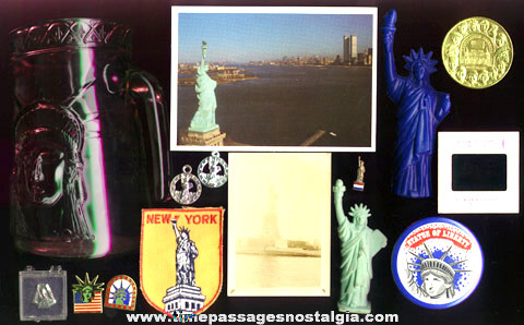 (15) Statue Of Liberty / Ellis Island Items