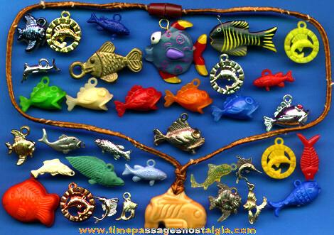 (35) Fish Charms