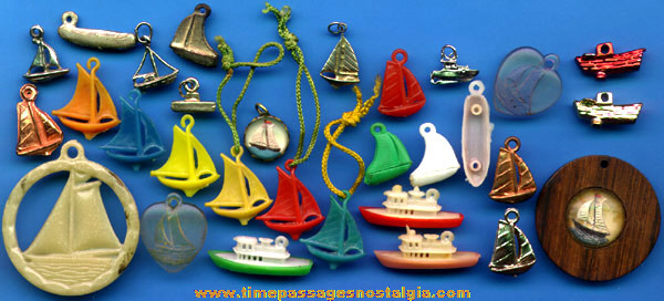 (30) Ship And Boat Charms