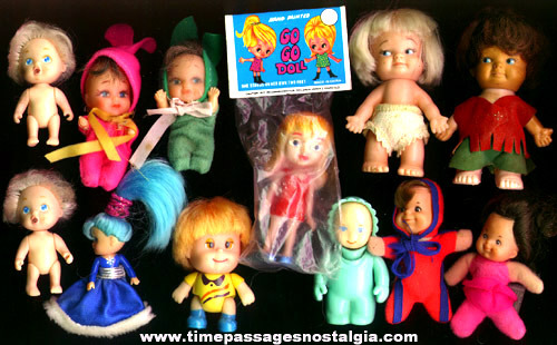Mixed Lot Of (12) Small Dolls