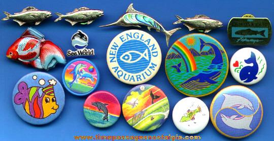 (16) Fish Pins