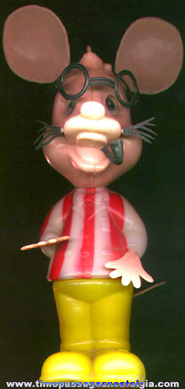 Large Old Carnival Prize Mouse Character Figure
