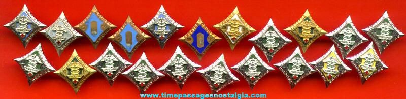 (21) Matching Nursing Pins
