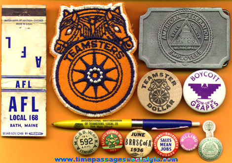 (12) Different Old Union Related Items