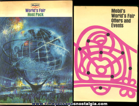 (6) 1964 -1965 New York World's Fair Souvenir Items