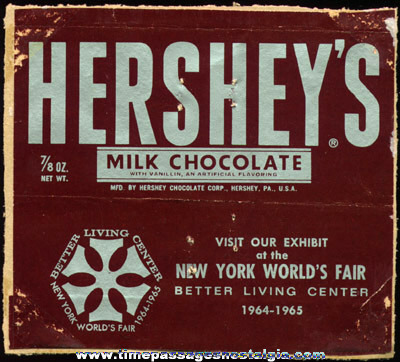 (2) 1960s Hersheys Chocolate Paper Advertising items