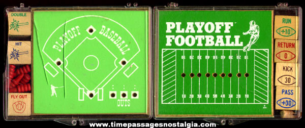 (2) Boxed Playoff Sports Games