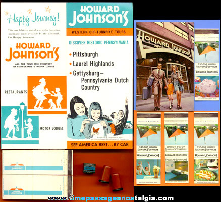 (11) Old HOWARD JOHNSON'S Restaurant Advertising Items