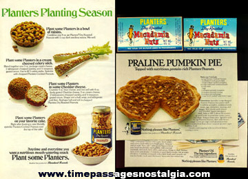 (8) Mr. Peanut Planters Peanuts Advertising Items